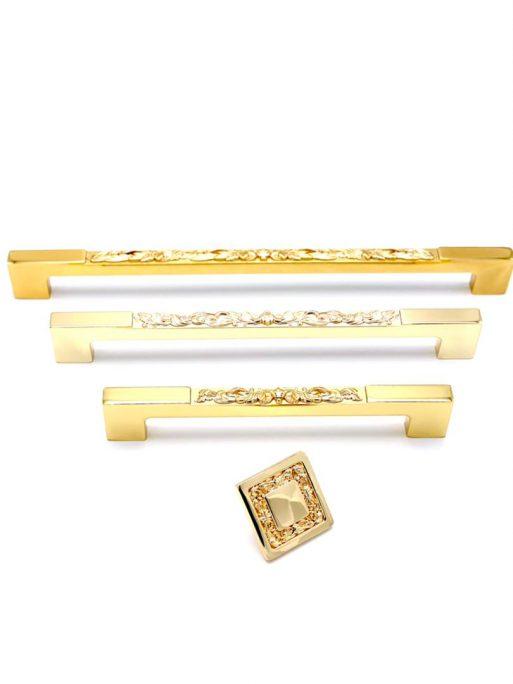 دستگیره کابینت بورتی مدل KD 55 طلایی