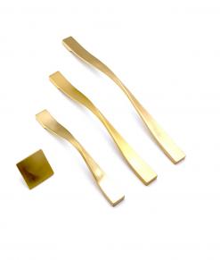 دستگیره کابینت بورتی مدل kd 91 طلایی